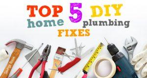 Top 5 DIY Home Plumbing Fixes