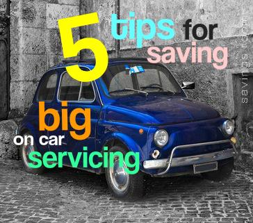 5 tips for saving big on car servicing